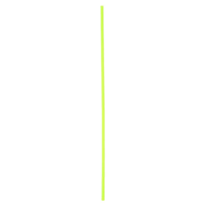 Трубочка для шаров, 41 см, d=6 мм, цвет зелёный