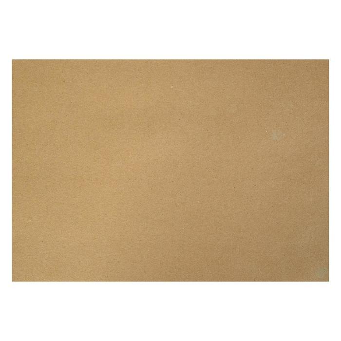 Крафт-бумага, 210 х 120 мм, 140 г/м?, коричневая