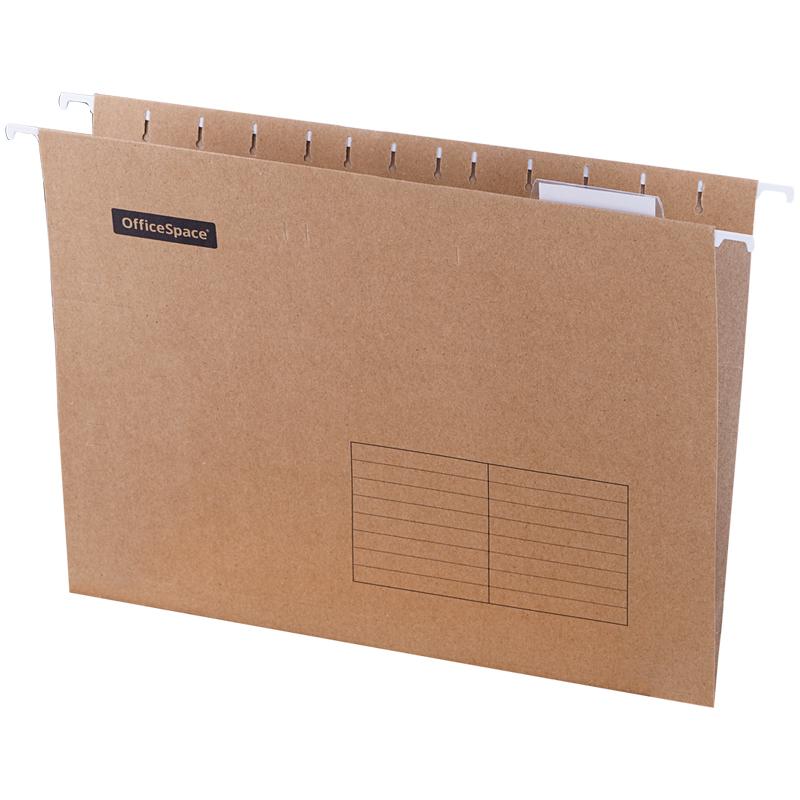 Подвесная папка OfficeSpace А4 (315*240мм), светло-коричневая