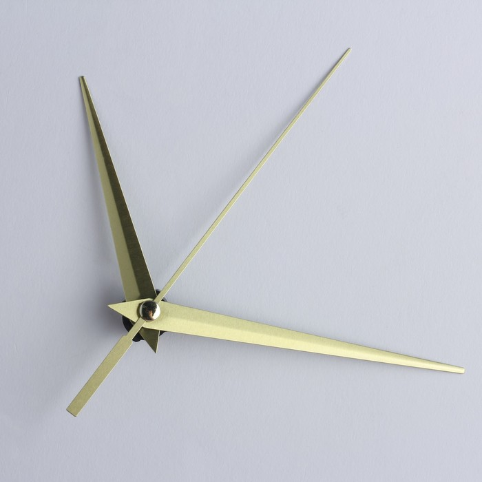 Комплект из 3-х стрелок для часов золотистые 75/93/143 (фасовка=100 наборам)