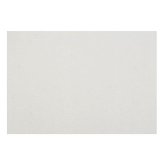 Картон переплетный 0.9 мм, 21х30 см, 540 г/м?, белый