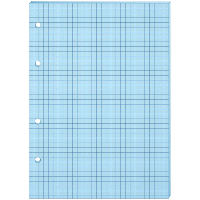 Сменный блок 80л., А5, ArtSpace, голубой, пленка т/у