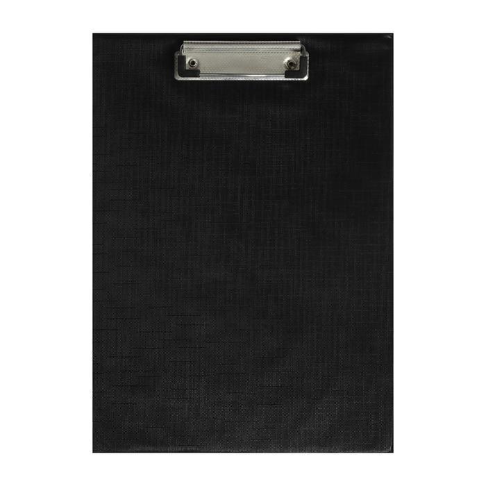 Планшет с прижимом формат А4 пвх черный