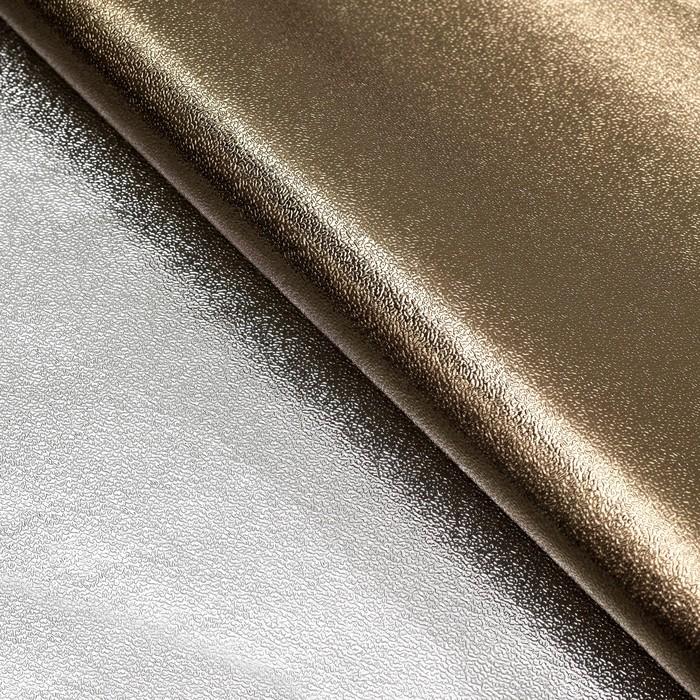 Плёнка с металлизированная, цвет коричневый, 50 х 70 см