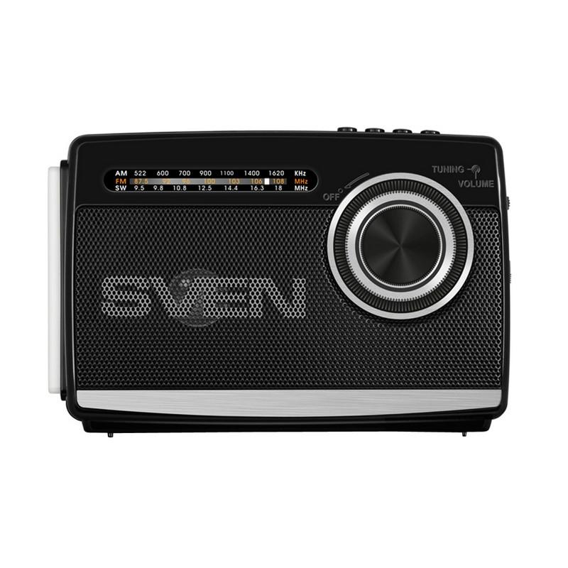 Радиоприемник SVEN АСPSRP-535,Pчерный,P3PВт,PFM/AM/SW,PUSB,PmicroSD,Pфонарь