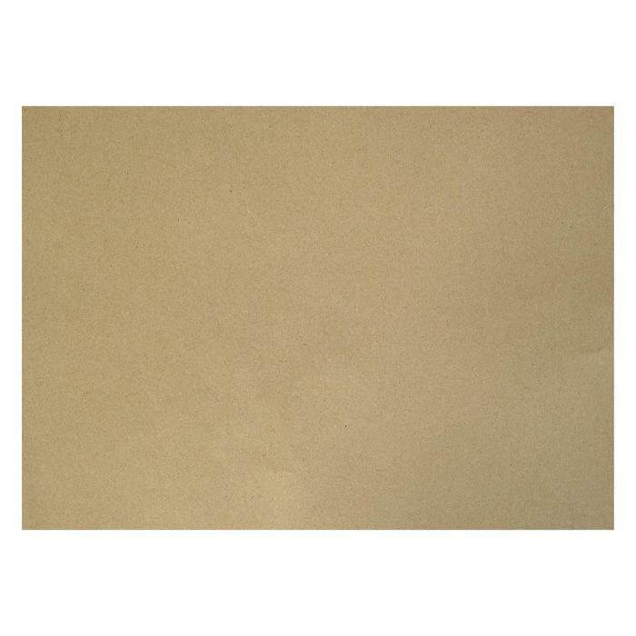 Крафт-бумага, 300 х 420 мм, 140 г/м?, коричневая