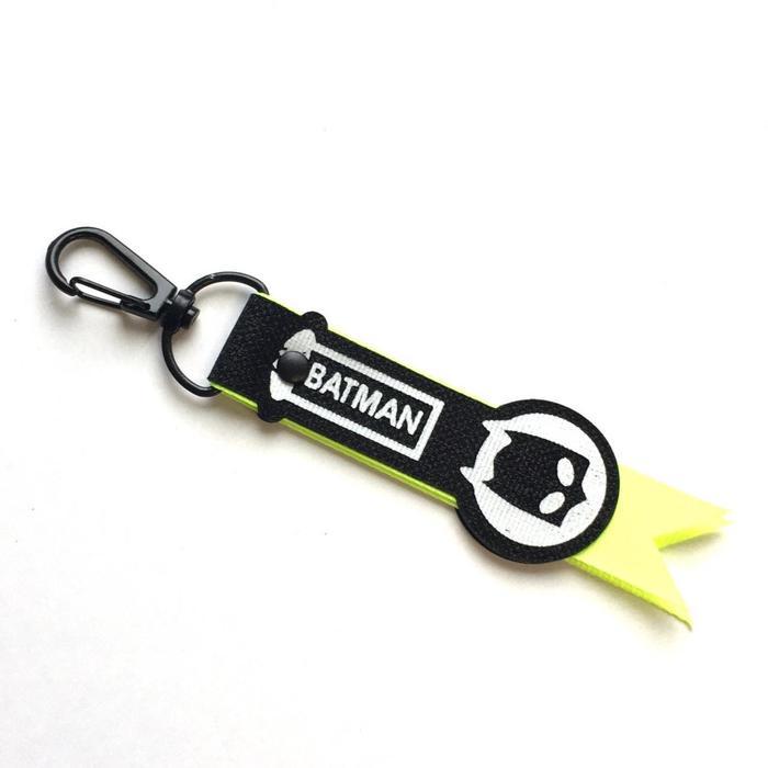 Подвес на карабине «BATMAN», размер 9,5x3 см, цвет чёрный, салатовый