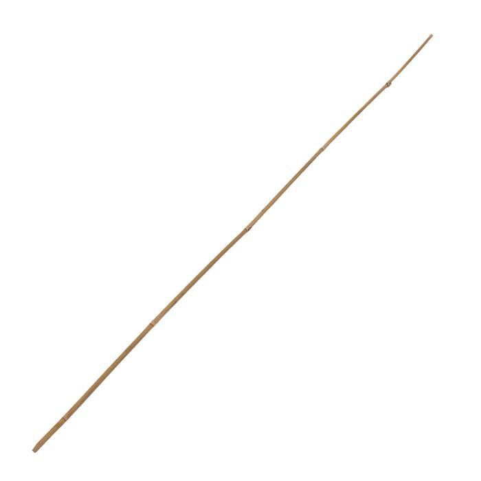 Колышек для подвязки растений, h = 120 см, ножка d = 0,8-1 см, бамбук