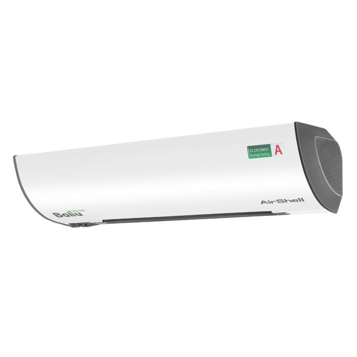Тепловая завеса Ballu BHC-L06S03-S, 3000 Вт, 3 режима, 350 м3/ч, белая