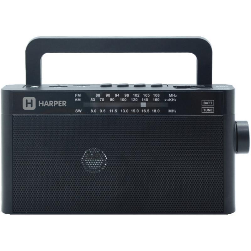 Радиоприемник HARPER HDRS-377 чёрный