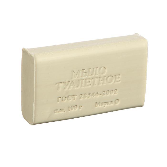 Мыло туалетное ординарное без упаковки, 100 гр