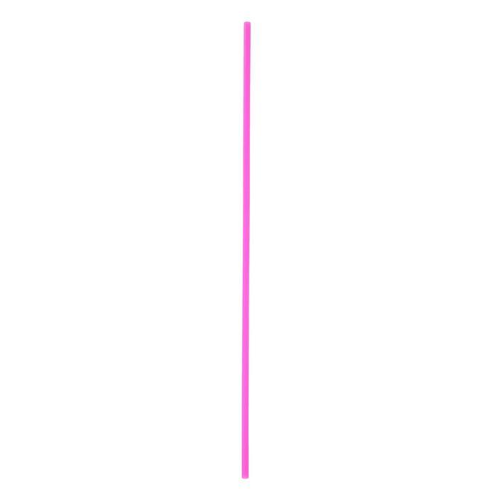 Трубочка для шаров, 41 см, d=6 мм, цвет розовый