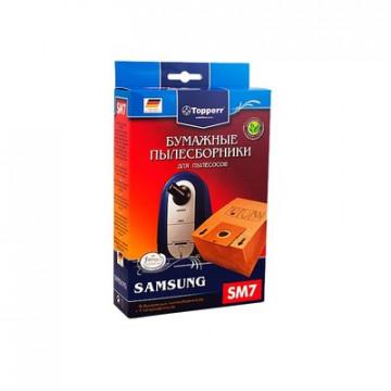 Пылесборник бумажный для пылесосов Topperr SM 7(5 шт.в ед.)