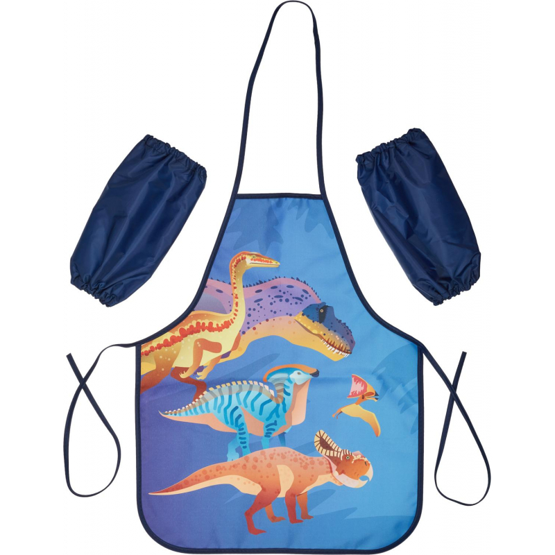 Фартук для труда 1School Мир динозавров нарукавники,490x390 мм,ФН 61-20