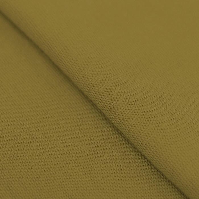Ткань для пэчворка трикотаж «Горчичный», 50 ? 50 см