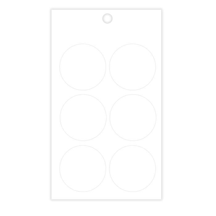 Наклейки для цветов и подарков, прозрачная, 16 х 9,5 см