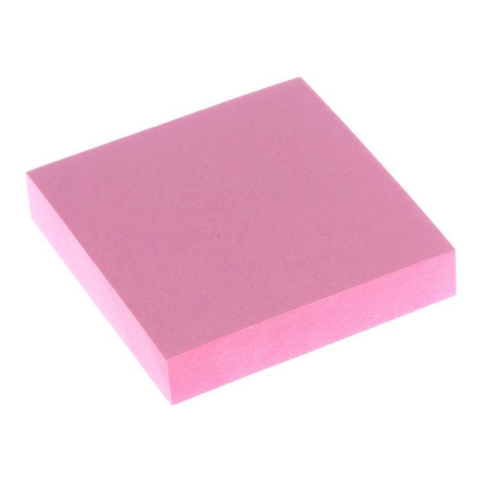 Блок с липким краем 51мм*51мм 100л пастель розовый