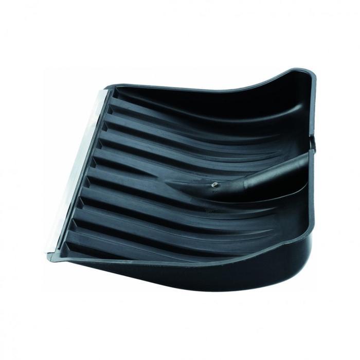 Ковш лопаты пластиковый, 415 ? 510 мм, с металлической планкой, без черенка, «Сибртех»