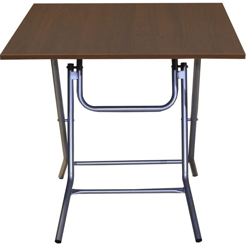 Стол обеденный Ривьера (800х800), П1.66.15, h750, металлик, ночче ЭКО