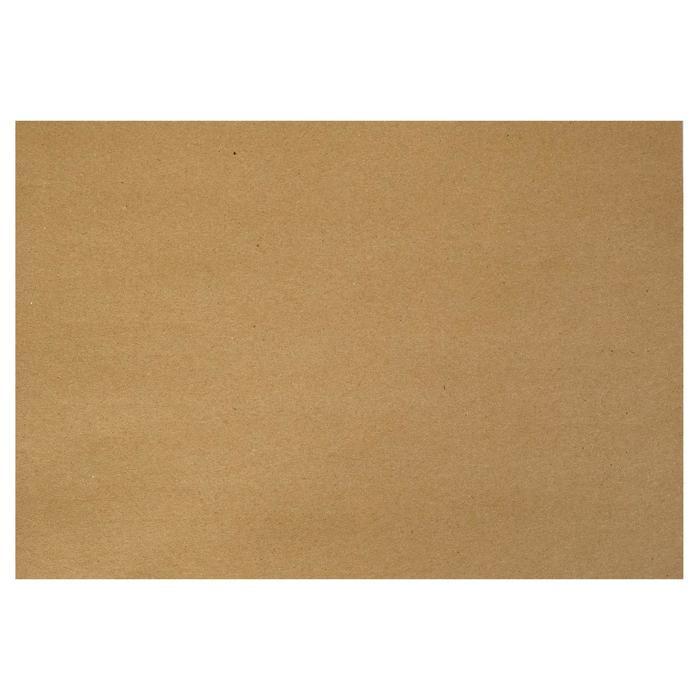 Крафт-бумага, 210 х 120 мм, 120 г/м?, коричневая