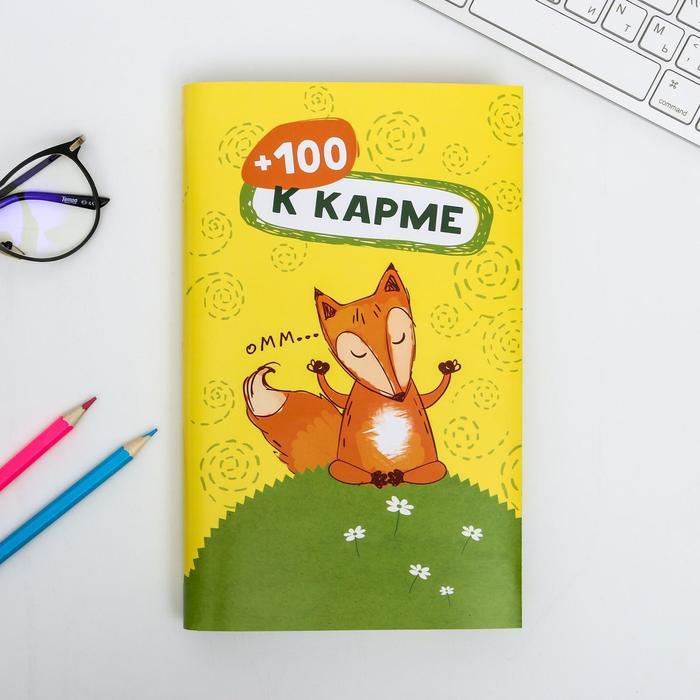 Обложка для книг «+100 к карме», 43 ? 24 см