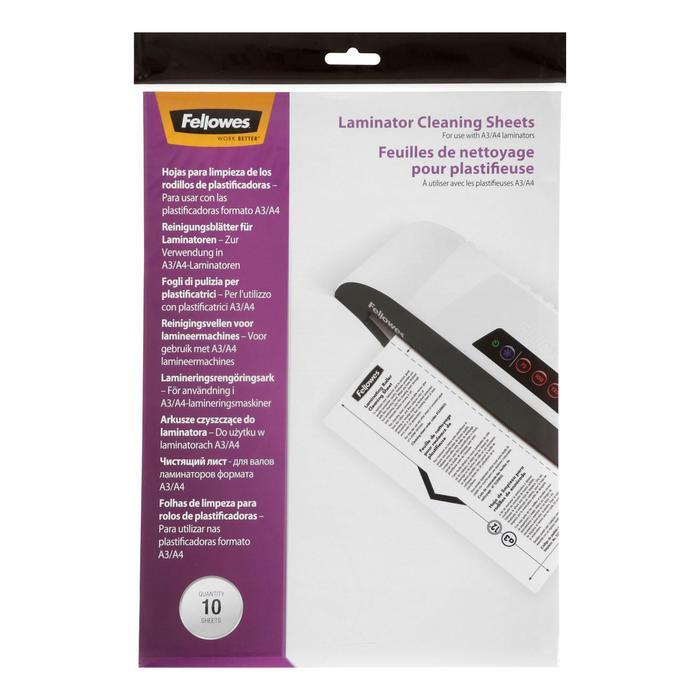 Чистящий лист для ламинаторов 10шт CRC53206