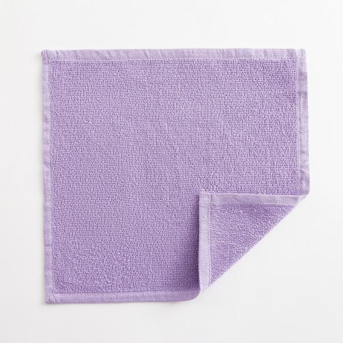Полотенце махровое Экономь и Я 30х30 см, цв. лиловый, 100% хл, 260 гр/м2