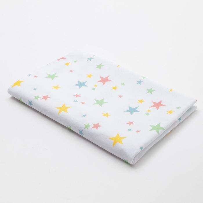 Пелёнка Крошка Я «Радужные звёздочки» 40х60 см