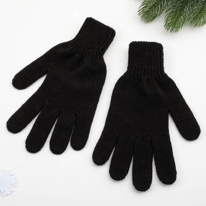 Перчатки женские арт 201 цвет черный , р-р 18
