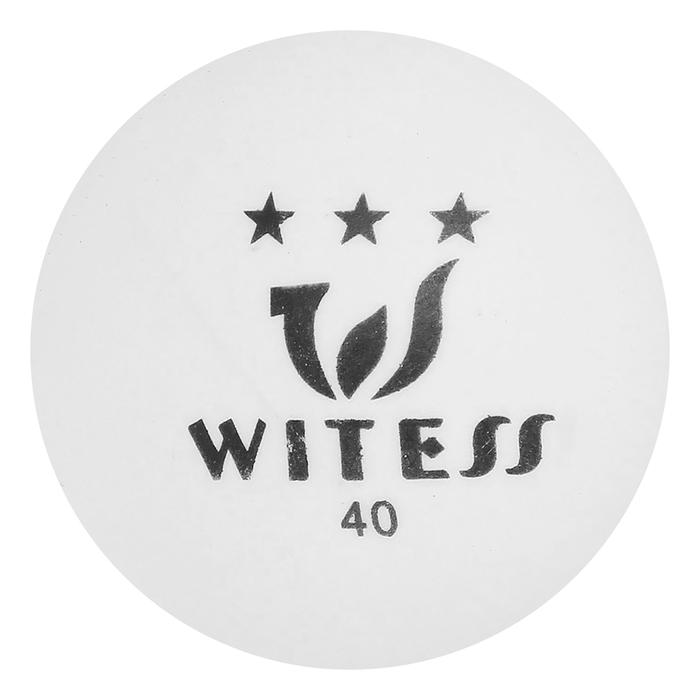 Мяч для настольного тенниса, 40 мм, 3 звезды, цвета МИКС