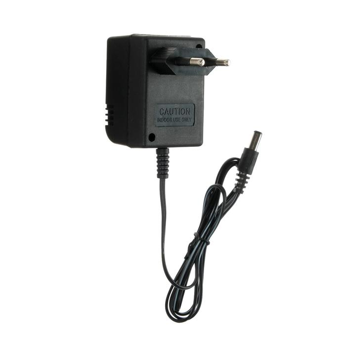 Блок питания для игровой приставки Dendy BP-100, 9 вольт, провод 1 м, чёрный