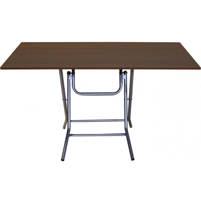 Стол обеденный Ривьера (1200х700), П1.66.15, h750, металлик,  ночче ЭКО