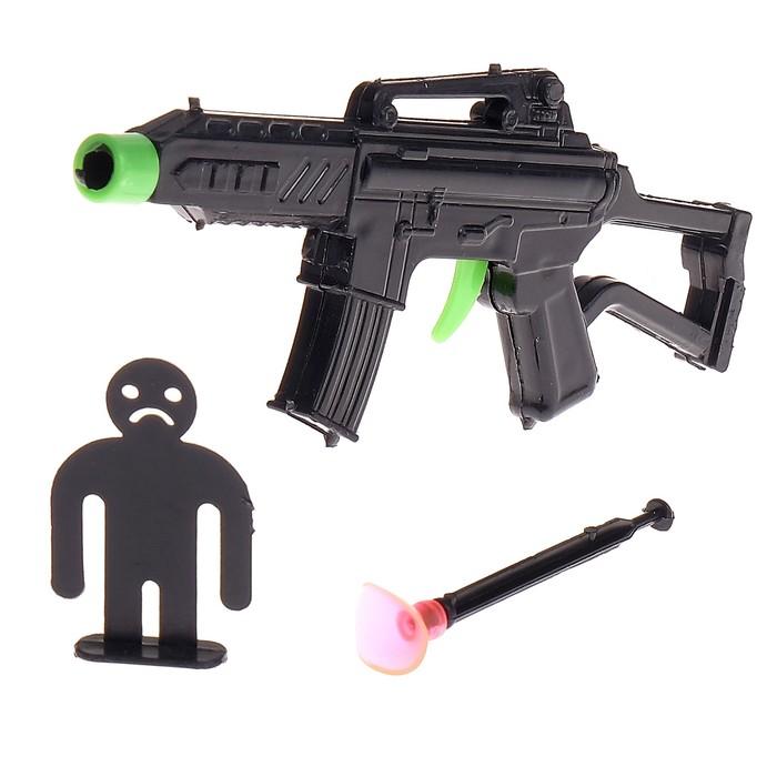 Автомат «Снайпер», с мишенью, стреляет присоской