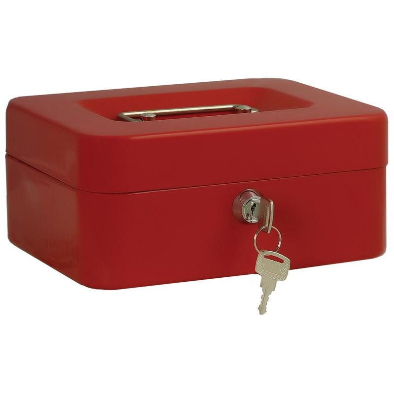 Кэшбокс МВ-2, ключ, красный, 200х160х90