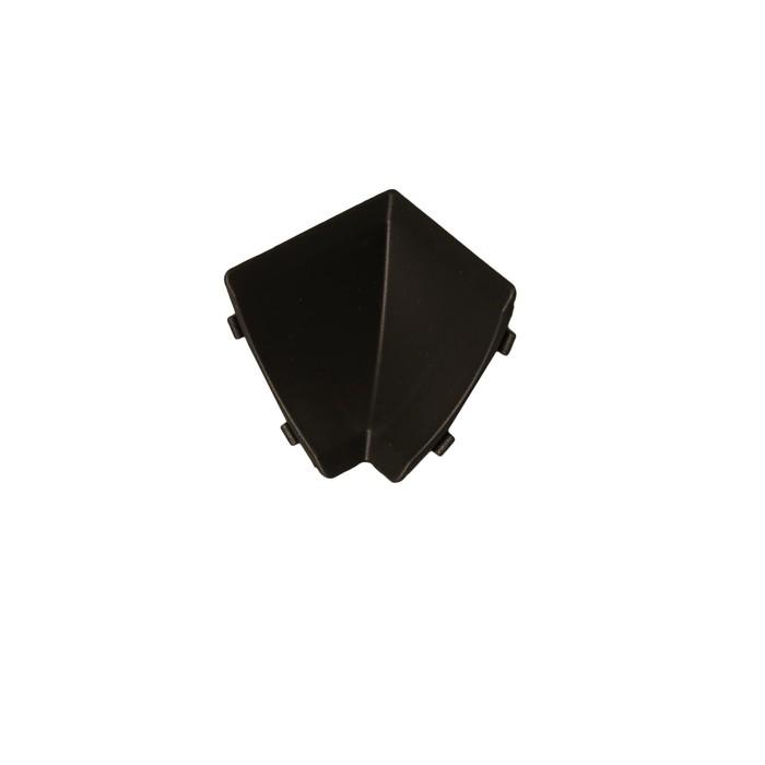 Внутренний угол АР120, черный матовый