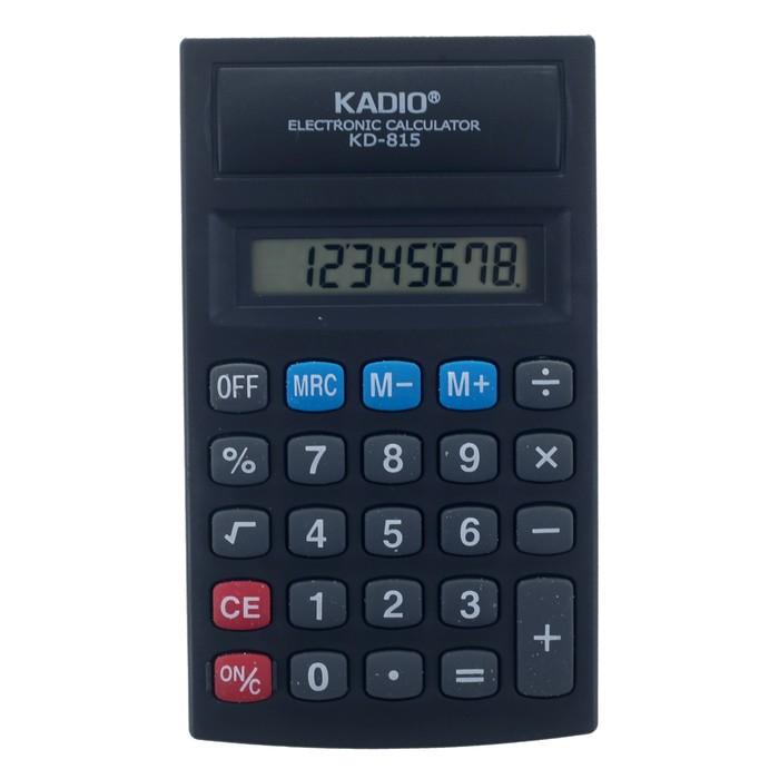 Калькулятор настольный, 8-разрядный, 815