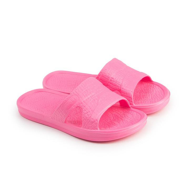 Сланцы женские, цвет розовый, размер 40