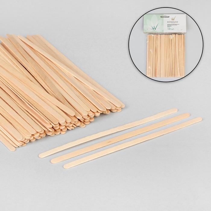 Шпатель для депиляции, деревянный, 14 ? 0,6 см