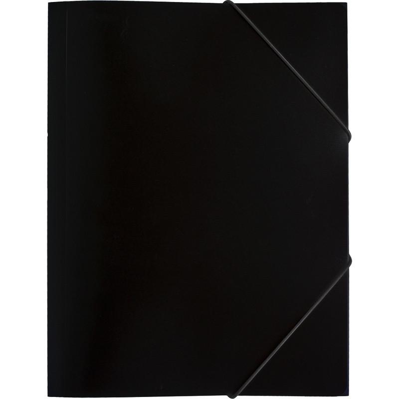 Папка на резинках Attache Economy 045-PR-E черный