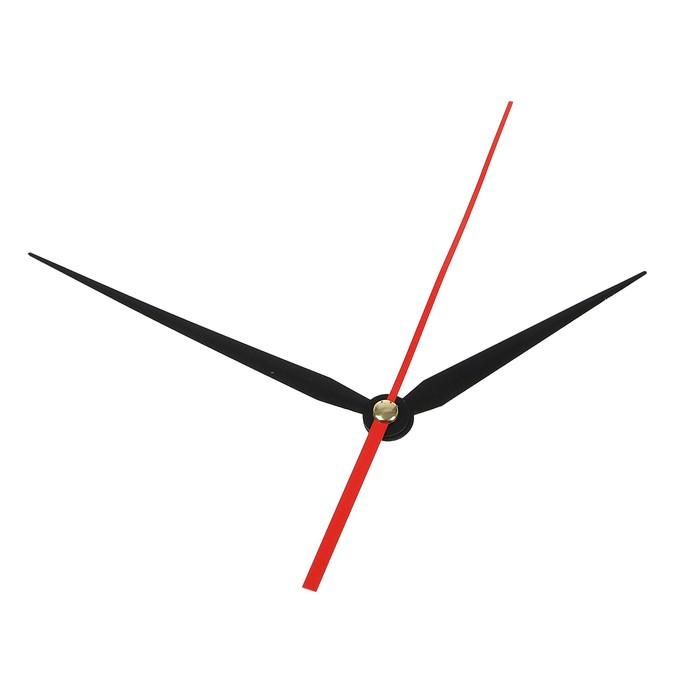 Комплект из 3-х стрелок для часов черные 86/113 (2032) (фасовка 100 наборов)