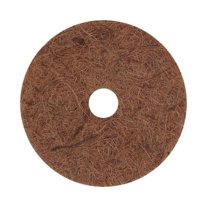 Круг приствольный, d = 20 см, из кокосового полотна с натуральным латексным клеем
