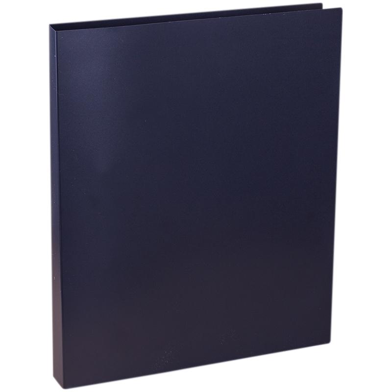 Папка на 2 кольцах OfficeSpace, 25мм, 500мкм, черная