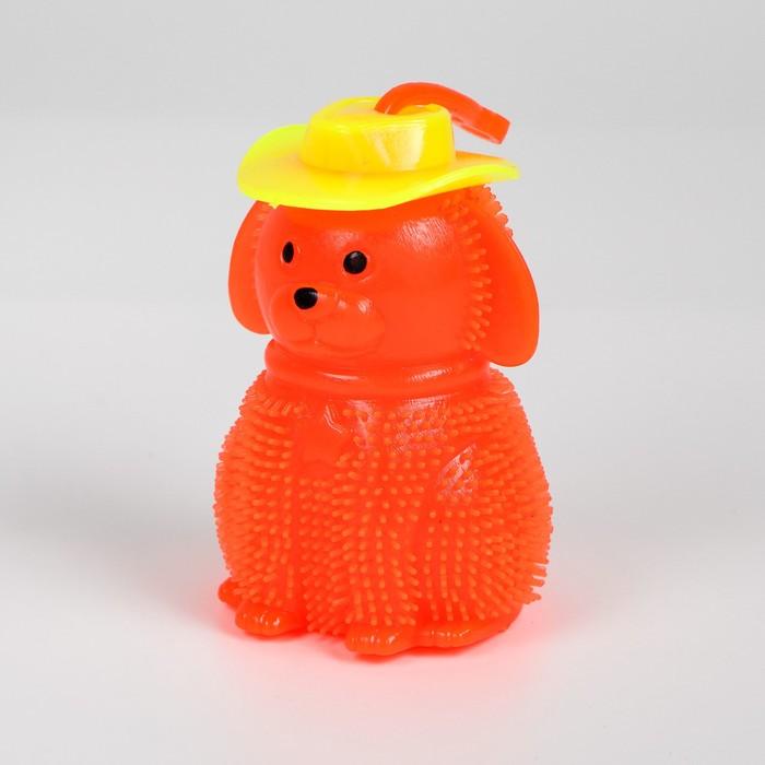 Ёжка «Собака», световой, цвета МИКС