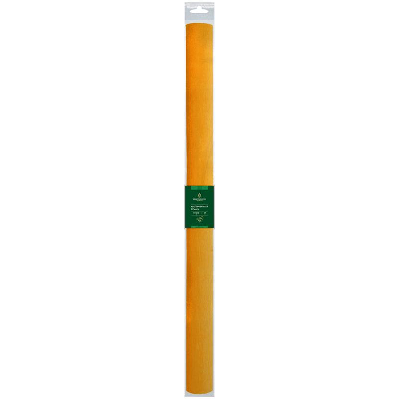 Бумага крепированная Greenwich Line, 50*250см, 32г/м2, светло-оранжевая, в рулоне, пакет с европодвесом