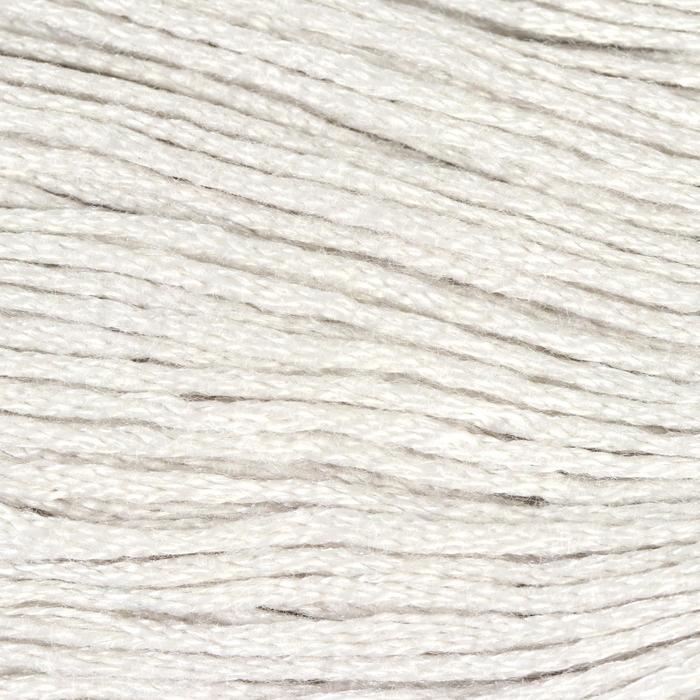 Нитки мулине, 8 ± 1 м, цвет бледно-серый №762