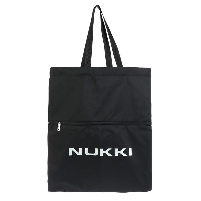 Сумка-рюкзак Nukki №63 51*41 см, чёрный