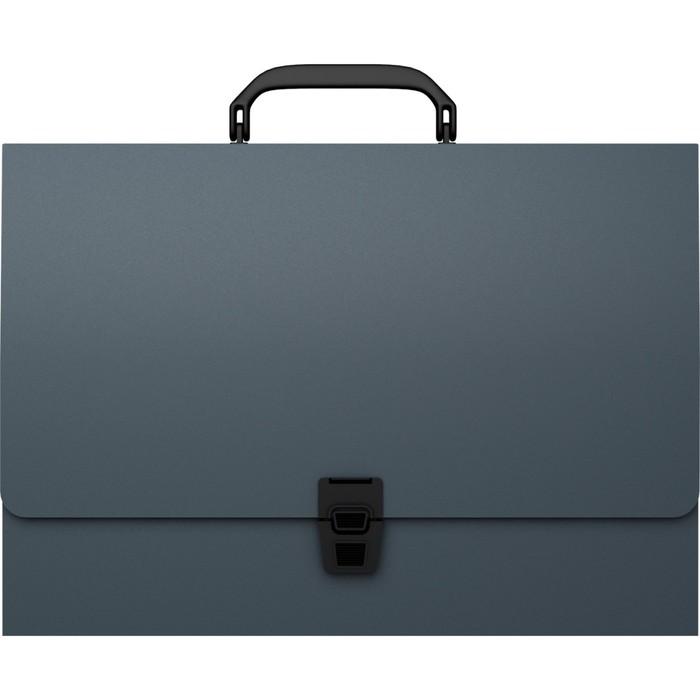 Папка-портфель А4 Erich Krause Attache, серый