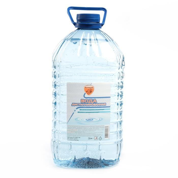 Дистиллированная вода Элтранс, 4.8 л