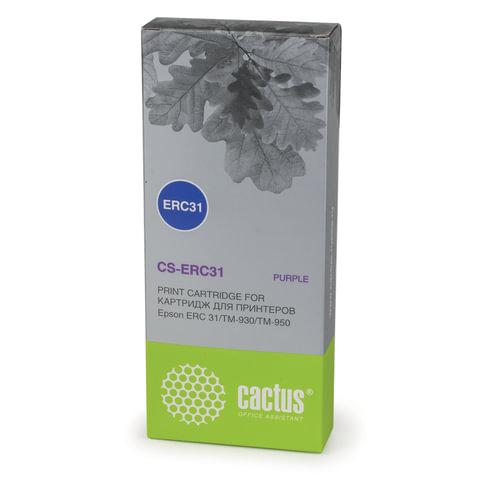 Картридж матричный CACTUS (CS-ERC31) для EPSON TM-930/950, пурпурный