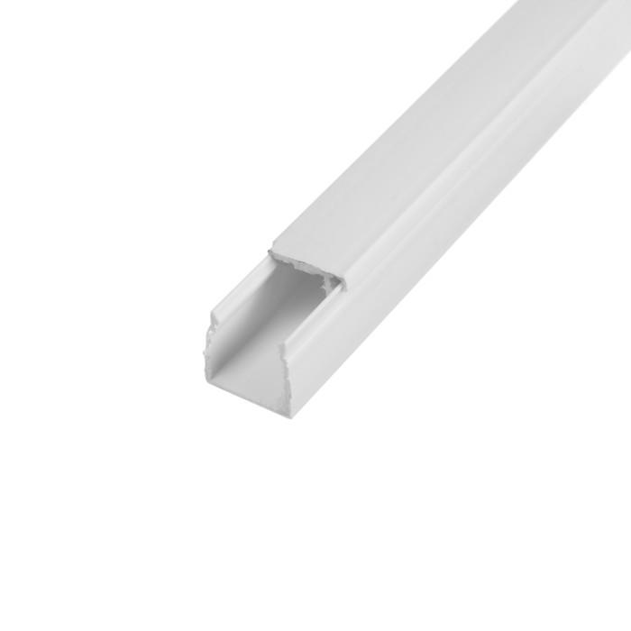 Кабель-канал EKF Basic, 2 м, 16х16 мм, белый